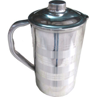 Stylish Stainless Steel Jug With Lid