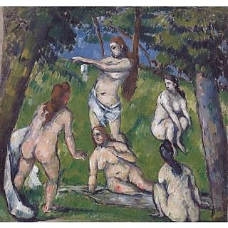 The Museum Outlet - Five Bathers, 1878 - Poster Print Online Buy (24 X 32 Inch)