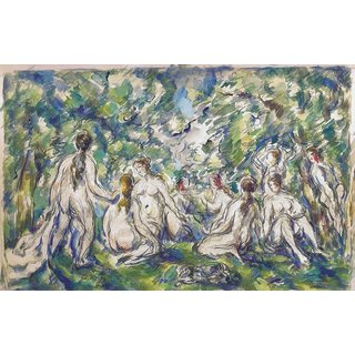 The Museum Outlet - Bathers, 1900 - Poster Print Online Buy (24 X 32 Inch)