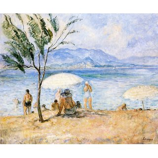 The Museum Outlet - Bathers r - Poster Print Online Buy (24 X 32 Inch)
