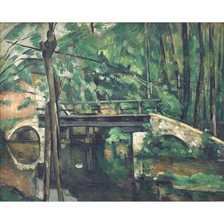 The Museum Outlet - Bridge at Maincy, 1882 - Poster Print Online Buy (24 X 32 Inch)