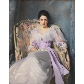 The Museum Outlet - Edinburgh NGS Singer Sargent Lady Agnew - Poster Print Online Buy (24 X 32 Inch)