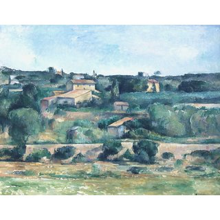 The Museum Outlet - Landscape near Aix-en-Provence - Poster Print Online Buy (24 X 32 Inch)