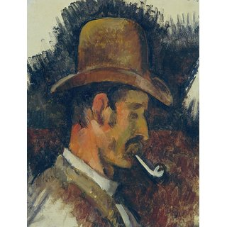 The Museum Outlet - Man with Pipe, 1892-95 - Poster Print Online Buy (24 X 32 Inch)