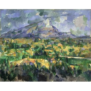 The Museum Outlet - Mount Sainte-Victoire, 1902-04 - Poster Print Online Buy (24 X 32 Inch)