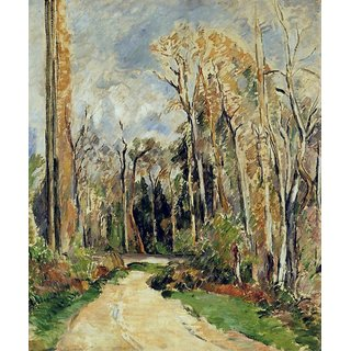 The Museum Outlet - Path at the Entrance to the Forest, 1879 - Poster Print Online Buy (24 X 32 Inch)