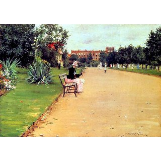 The Museum Outlet - The Park 02, 1887 - Poster Print Online Buy (24 X 32 Inch)
