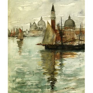 The Museum Outlet - Venice, 1881 - Poster Print Online Buy (24 X 32 Inch)