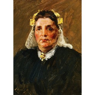 The Museum Outlet - Woman of Holland, 1903 - Poster Print Online Buy (24 X 32 Inch)