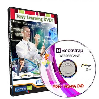 Learn Bootstrap website designing (4 Course) Video Training Tutorial DVD