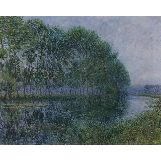The Museum Outlet - The Bend of the Eure - Poster Print Online Buy (24 X 32 Inch)