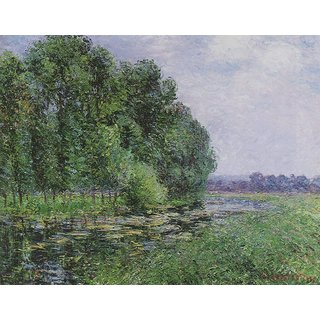 The Museum Outlet - The Eure in Summer, 1902 01 - Poster Print Online Buy (24 X 32 Inch)