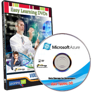 Microsoft Azure Data Storage for Developers Video Training Course DVD