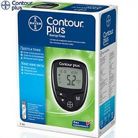 Bayer Contour Plus Blood Glucose Monitoring System (Only Meter No Strips)
