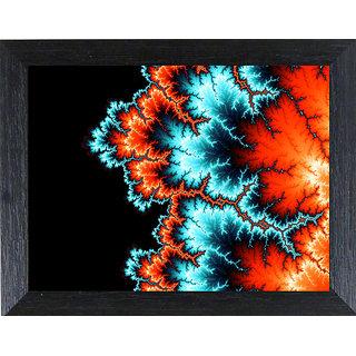 MLH Handicraft Modern Art Matt Textured Frame Natural Colors Painting