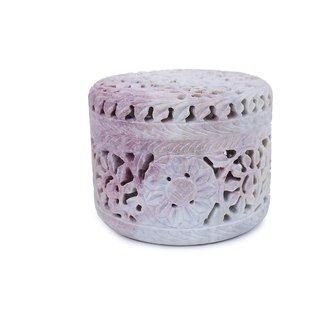 Creative Crafts GoraraStone Jewellery Box Medium Home Decorative Handicraft Gift