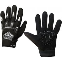 Knighthood Hand Grip for Bike/Motorcycle/Scooter Riding Gloves (L, Black)