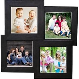 Wooden Wall Photo Frame Collage 4 Frames