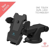 Tantra TWIST Smart Universal Phone Holder, Mobile Stand for Car (Car Mount) with Quick One Touch Technology
