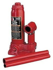 2 Ton Hydraulic Bottle Car Jack (set of 1 ) - Red