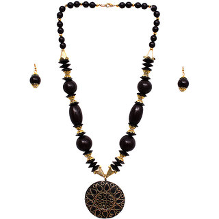 New Creation Black Necklace