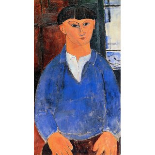 The Museum Outlet - Modigliani - Portrait of Moise Kisling 2 - Poster Print Online Buy (24 X 32 Inch)