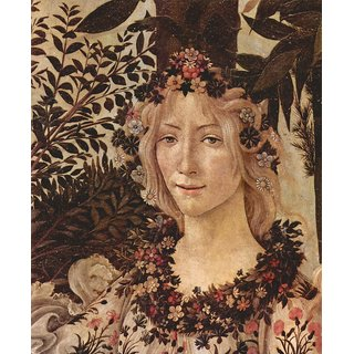 The Museum Outlet - Spring (Primavera), detail 2 by Botticelli - Poster Print Online Buy (24 X 32 Inch)
