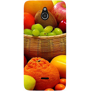Casotec Fruit Basket Design 3D Printed Hard Back Case Cover for Infocus M2