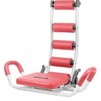 AB ROCKET TWISTER HOME GYM HEAVY DUTY SIX PACK ABS UNISEX TUMMY TRIMMER EXERCISER MACHINE  (Red, Black)