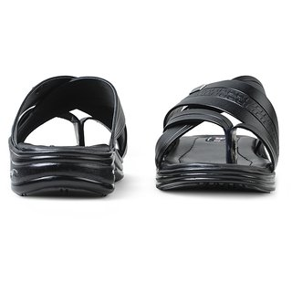 a53ed3e9321f Buy Action Shoes Men S Black Slipper Online - Get 6% Off