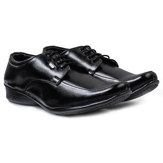 Action Men'S Black Formal Shoes