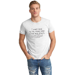 Dreambolic Sit Read Half Sleeve T-Shirt