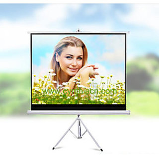Delta N Series Tripod Projector Screen Size 6 Feet X 4 Feet A++++