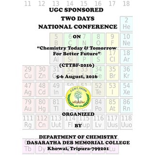 Chemistry Today  Tomorrow For Better Future  UGC Sponsored Two Days National Conference