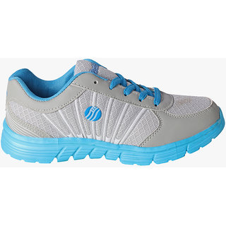 Action Women's Blue & Gray Sports Shoes