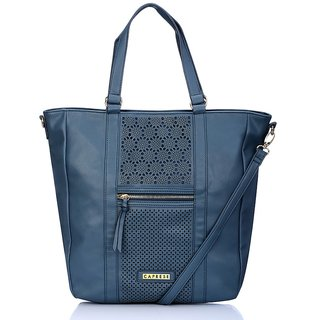 Caprese Solang Tote Large Navy