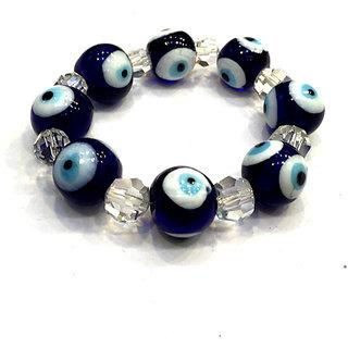 Evil Eyes Bracelet with Crystals