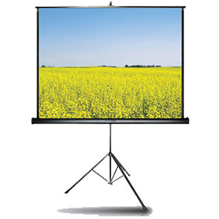 Alfa E Series Tripod Projector Screen Size 5 Feet X 7 Feet A++++