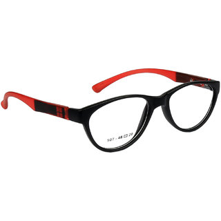 Pears Full Rim Cateye Black-Red sheet Frame