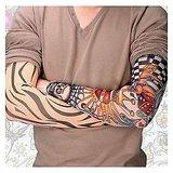 Fashion Design,Temporary Nylon Mesh Tattoo Sleeve For Arms Or Legs -1 Pair