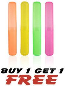 Buy 1 Get 1 Free! 4 Pcs Protect Toothbrush Case Holder - B1G1TBR4