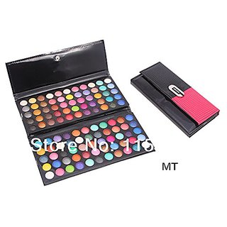 MISS ROSE Professional Make-Up 3d Lady Hand Bag Style 110 Color EyeShadow Kit
