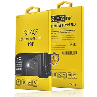 Tempered Glass Screen Protector For  Panasonic P55 Novo (Pack of 2)