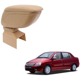 Auto Hub Premium Quality Arm Rest Console For Tata Indigo - Beige Color
