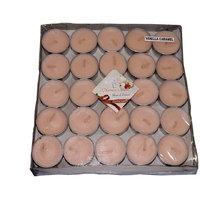 VANILLA CARAMEL TEA-LIGHT CANDLE(Pack Of 50)