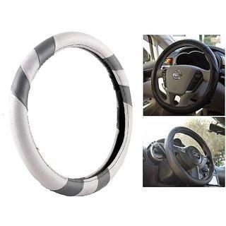 MP Car Steering Cover For Maruti Celerio Grey