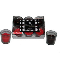 Numen Spark Amour Rose-Chocoholic  Dual-Scent Votive Candle (pack Of 6)