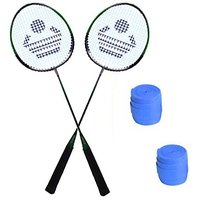 Cosco CB-88 Badminton Racket Pair With Plastic Grip ( Pack of 2 )