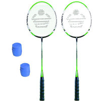 Cosco CBX-555N Badminton Racket Pair With Plastic Grip ( Pack of 2 )