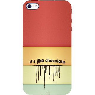 ifasho Passinate Love Quote Back Case Cover for Apple iPhone 5
